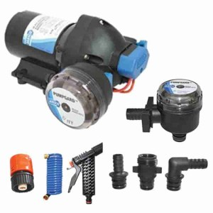 marine and boat deckwash pumps and kits - Water Pumps Now