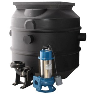 Packaged poly pump stations - Water Pumps Now