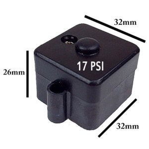 Escaping Outdoors 12v FL diaphragm water pump 17 PSI pressure switch