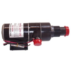 Escaping Outdoors 24v MP65 macerator sewage pump - Water Pumps Now