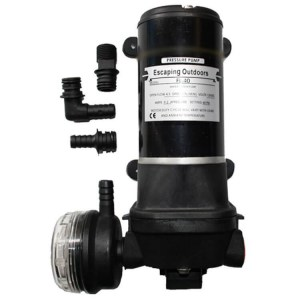 Escaping Outdoors FL40 12v caravan water pump - Water Pumps Now