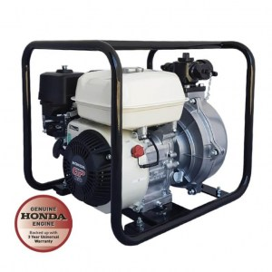 Honda GP160 single impeller recoil start with roll frame fire fighting pump Water Pumps Now