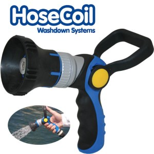 HoseCoil deck wash water pump power lever hose gun - Water Pumps Now