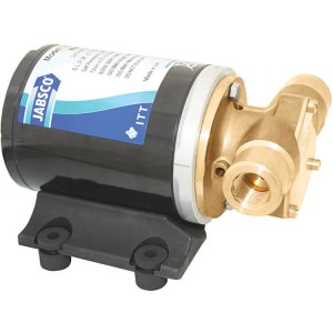 Jabsco 12v J40-122 mini puppy water pump compact low flow pumps - Water Pumps Now