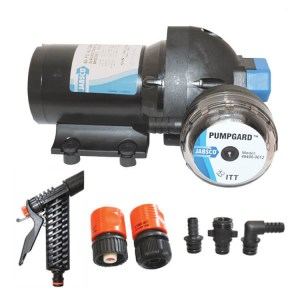 Jabsco 120-138 12v boat deck wash pump kit - Water Pumps Now