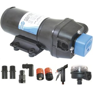 Jabsco J20-140 parmax 5 12v deck wash pump kit - Water Pumps Now