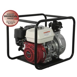 Reefe GX200 Honda engine single impeller fire fighting water pump w roll frame - Water Pumps Now