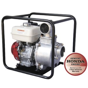 Reefe GX270 Honda RP040 4 inch series high volume water transfer pump - Water Pumps Now