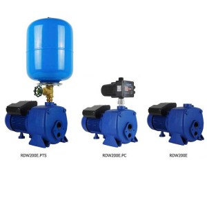 Reefe RDW200E self priming deep well pressure pump with injector kit in 3 size options