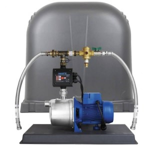 Reefe RM6000-3 external rain to mains house water pump system - Water Pumps Now