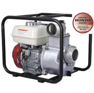 Reefe RP030E-RF 3 inch water transfer pump with Honda GX200 engine and roll frame - Water Pumps Now