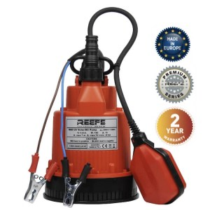 Reefe RSE12v solar DC powered submersible sump pump - Water Pumps Now