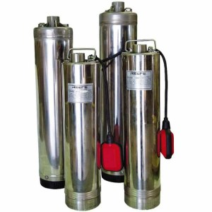 Reefe RSM82 5 inch stainless steel submersible multistage water pressure pump - Water Pumps Now