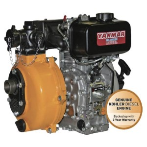 Reefe Yanmar L70 twin impeller E diesel fire fighting water pump - Water Pumps Now