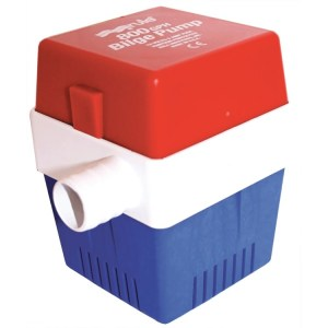 Rule 800 12v square marine bilge water transfer pump - Water Pumps Now