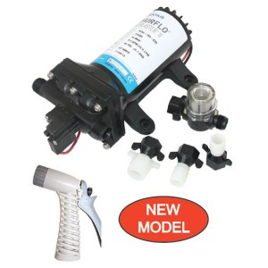 Shurflo 4.0 Pro Blaster 2- 12V 15LPM 60PSI deck wash pump - Water-Pumps-Now