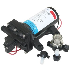 Shurflo Fresh 4 Aquaking 2 12V 15LPM caravan marine freshwater pressure pump - Water Pumps Now