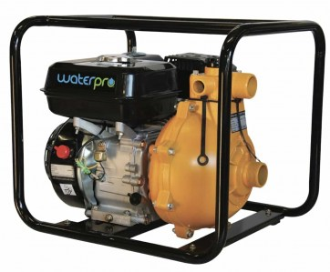 WaterPro WFF100 6.5HP twin impeller fire fighting petrol water pump - Water Pumps Now